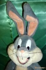 Bugs Bunny Rabbit Plush Toy Stuffed Animal Warner Bros Mighty Star 1991 Cartoon