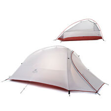 Naturehike 1 Person Tent 20D Silicone Fabric Ultralight Camping Tent 4 Seasons