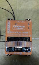 Multiplex Wingstabi pro mit RX-16-DR Empfänger und 35A Akkuweiche und USB-Adapt.