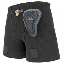 Shock Doctor Ice Hockey Loose Fit Shorts Jill Ultra Carbon Flex Cup Womens L
