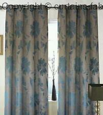 ROMAN MADE TO MEASURE CURTAIN Swatch Box Wisteria Aqua (220cm DROP X 260cm WIDTH