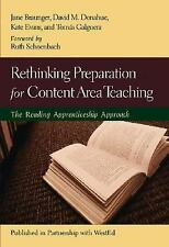 Rethinking Preparation for Content Area Teaching: The Reading Apprenticeship App