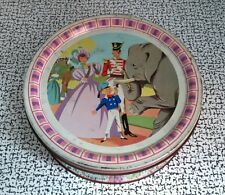 50s 60s Vintage Retro Large Quality Street Mackintosh Sweet Tin Lady Soldier