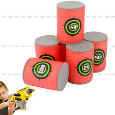 Dart Foam Gun Shoot Soft Bullet Target For NERF N-Strike Elite Blasters Kids Toy