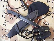 Entrek USA Silhouette MKII Fixed Blade Bowie Knife Micarta Handles by Ray Ennis