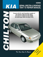 Chilton Repair Manual Fits Kia Sephia (94-01) Spectra (00-09) & Sportage (05-10)
