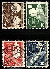 Germany  Scott 698-701,Mi. 167-70 Used Nice clean cancels