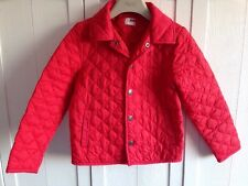 Girls Name It Designer Age 6-7 Years Red Quilted Jacket