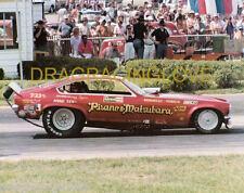 """""""Pisano & Matsubara"""" 1973 """"Revell"""" Chevy Vega NITRO Funny Car PHOTO!"""