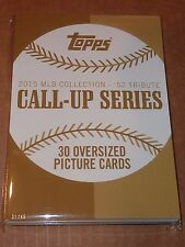 2015 Topps 52' Tribute Call-Up Series ROOKIES Set 5x7 Gold Edition Set #'d /49
