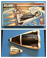 1988 Hasbro GI JOE CRUSADER SPACE SHUTTLE w/Avenger Scout Craft & Original Box!
