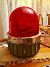 Federal Signal Corp. 371L Commander Series A5 Red Rotating Light Working