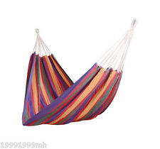 """Outsunny 79""""x40"""" Hammock Bed Swing Chair Lounge Garden Camping Hiking"""
