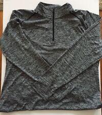 NEW Mens Black SZ X-Large Under Armour 1/4 Zip Shirt Top Heat UA Tech Sport Wear