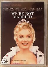 We're Not Married (Marilyn Monroe) DVD in LIKE NEW condition (Region 4 PAL)
