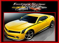 chevrolet camaro side hockey stripes decals 2010 2011 2012 2013