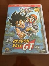 DRAGON BALL GT VOL 1  - 2 DVD - CAPS 1 A 8 -200 MIN - REMASTERIZADA CON EXTRAS