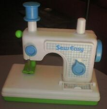 Vintage Hasbro Sew Easy Plastic Play Pretend Toy Sewing Machine~Romper Room~1980