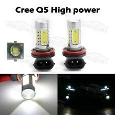 2x H11 H8 CREE Q5 Projector 4 SMD LED DRL Fog Light Headlight Bulbs High Power