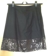 Ladies Black Party Skirt   Strawberry Bunny.     Size L