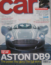 CAR 10/2003 featuring Aston Martin DB9, BMW M3, Porsche, Invicta S1, Nissan 350Z
