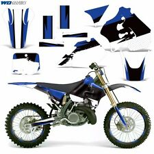 Decal Graphic Kit Suzuki RM 250 RM250 Dirt Bike Number Backgrounds Deco 96-98 RB