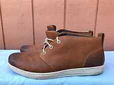 EUC Timberland Earthkeepers Hookset Mens US 13M Brown Leather Chukka Ankle Boots
