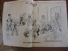 1936 N°501 Charivari Hebdomadaire satirique illustré Ralph Soupault