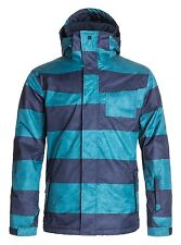 $160 Quiksilver Giacca Men's Snow 10K Jacket Ski Snowboard Insulation Size 2XL