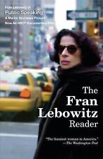 The Fran Lebowitz Reader by Fran Lebowitz (1994, Paperback) Free Shipping!