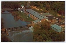 PIEDMONT Area NC Textile Mill View Greensboro Winston Salem High Point postcard