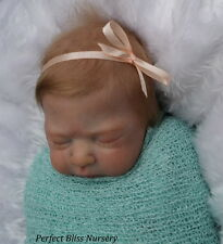 *PBN* YVONNE ETHERIDGE  REBORN BABY GIRL SCULPT LEAH 1017 BY SANDRA WHITE