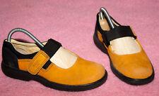 ECCO kids ☺ Spangen Schuhe ☺ Gr. 33  *TOP* Wildleder☺ mit Klettverschlußriegel ☺