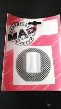 stickers protection bouchon de reservoir YAMAHA Mad style carbone