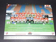 RARE FC UTRECHT NEDERLAND EREDIVISIE VOETBAL UTREG 1997-1998 FOOTBALL CPA