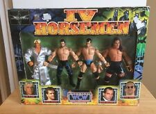 Wcw IV 4 Horseman Action Figures Sealed Box Chris Benoit Ric Flair Rare new wwe