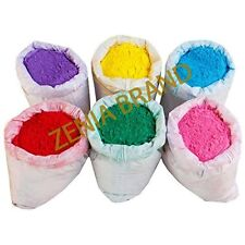 HOLI Colors 12 Lbs 6 colors (2lbs ea color) Powder Gulal Red Green Yellow Pink B