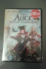 Alice In Wonderland (DVD, 2010) Alice Through The Looking Glass