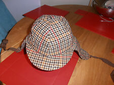 Vintage T O'Gorman & Sons Ltd Irish Tweed Deer Stalker Hat Size 6 7/8