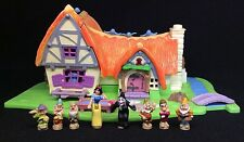 Polly Pocket Mini ��  1995 - Disney Snow White and the Seven Dwarfs 7 Zwerge