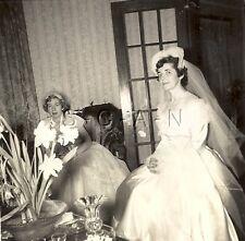 Original Vintage 1950s Wedding RP- Bride- Wedding Dress- Bride's Maid- 1950