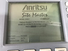 Anritsu S331C SiteMaster Cable & Antenna Analyzer