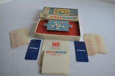 Vintage Collectible Password Game 1962 Milton Bradley #4260 Complete