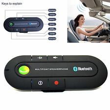 Magnetic Slim Handsfree Bluetooth Phone Clip Speaker Car Kits Visor Accessories