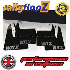 Bavette Garde Boue Rallye SUBARU IMPREZA âge (01-07) 4mm noir PVC WRX style Mat