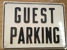 Guest Parking Used Signs