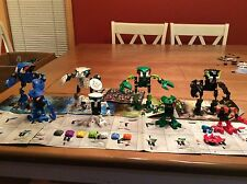 LEGO Bionicle Bohrok Figure Lot Of (4) Sets 8561 8562 8564 8565 W/ Books