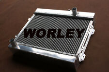 Aluminum Radiator for TOYOTA COROLLA KE30 KE35 KE38 KE55 KE70 1974-1985 Manual