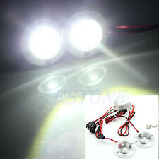Car 2 LED Strobe Bulb Light Warning Emergency Flash DC 12V 5W + Controller