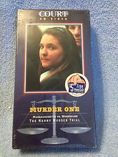 (BRAND NEW) VHS: COURT ON VIDEO:  WOMEN ON TRIAL (THE NANNY MURDER TRIAL)